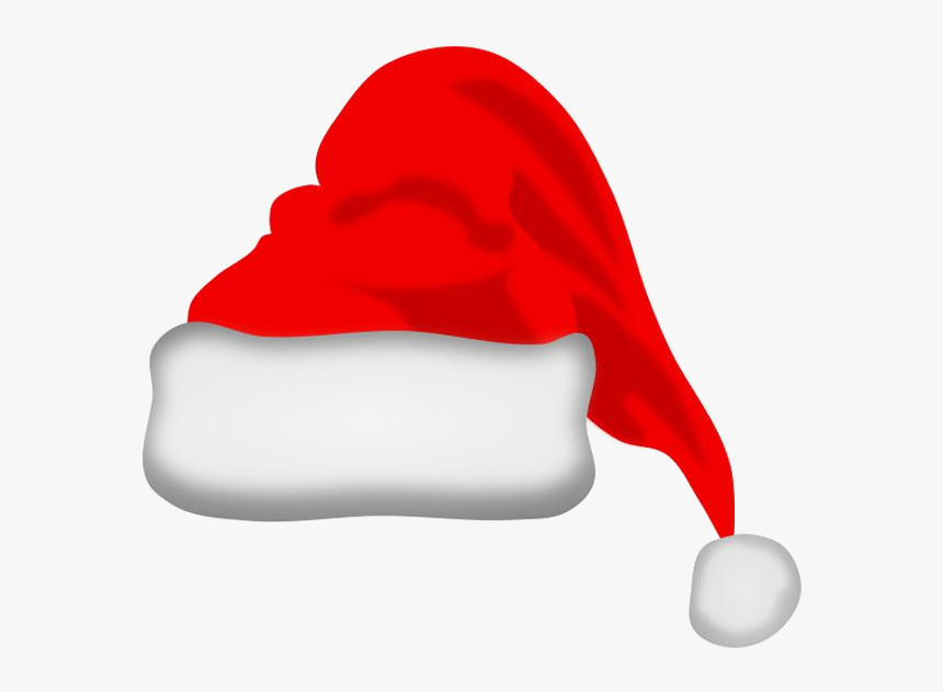 Christmas Santa Free Clip Art Images For Everyone Transparent - Clip Art Transparent Background Santa Hat, HD Png Download, Free Download