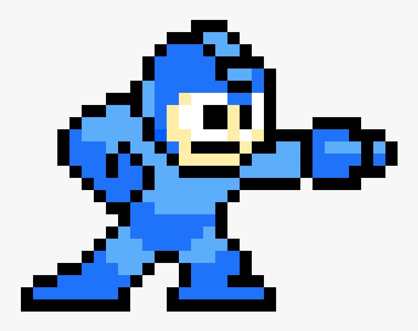Transparent Megaman Png - Retro Games Pixel Art, Png Download, Free Download