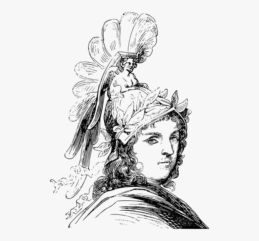 Alexander The Great, Greek, Portrait, Greece, Macedon - Alexandre Le Grand Png, Transparent Png, Free Download