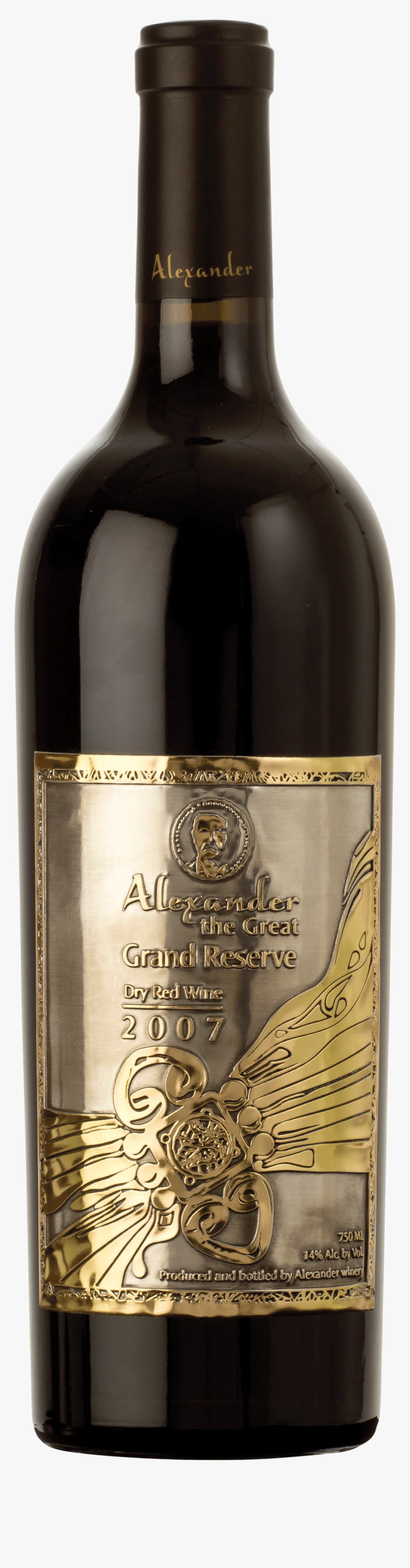 "Alexander The Great Grand Reserve""  Title=""alexander - Alexander The Great Grand Reserve 2012, HD Png Download, Free Download"