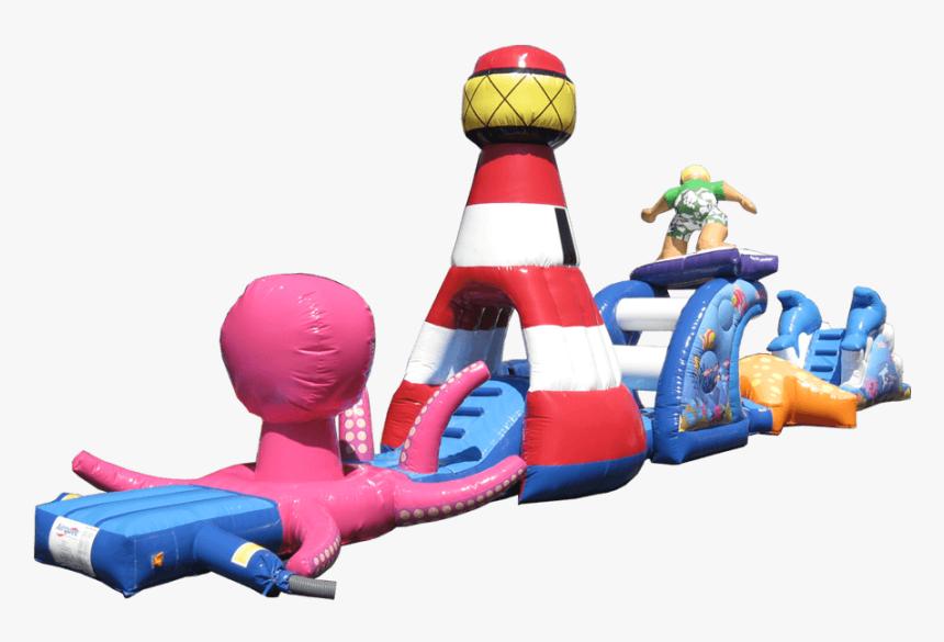 17m Sea Splash - Inflatable, HD Png Download, Free Download