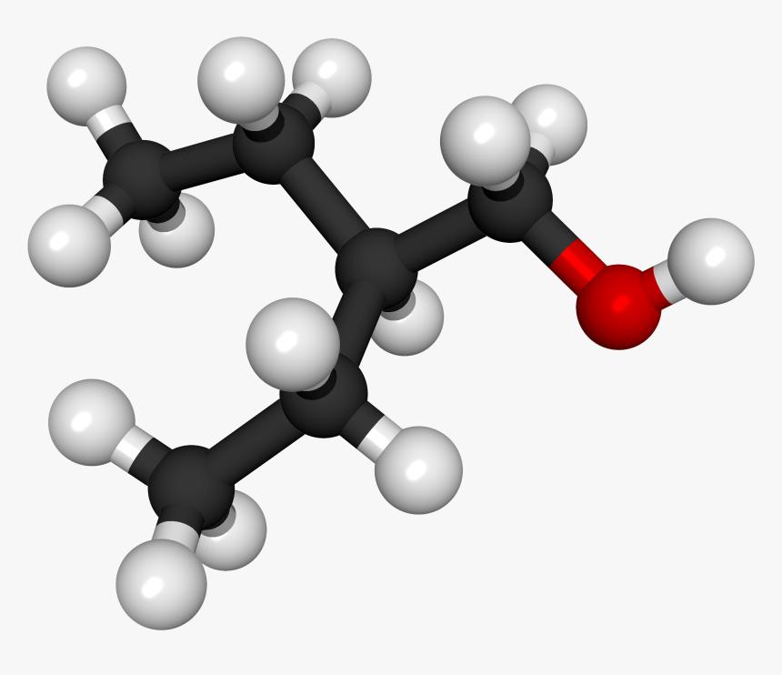 2 Ethyl 1 Butanol 3d Ball, HD Png Download, Free Download
