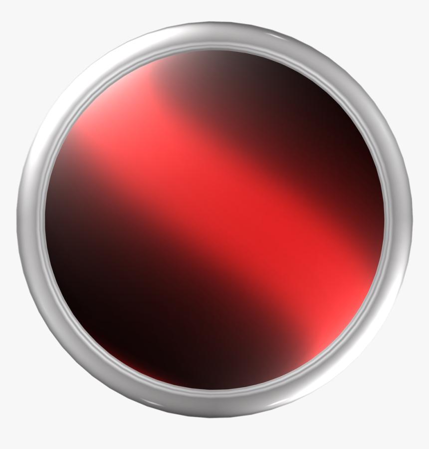 3d Button Png - 3d Metal Circle Png, Transparent Png, Free Download