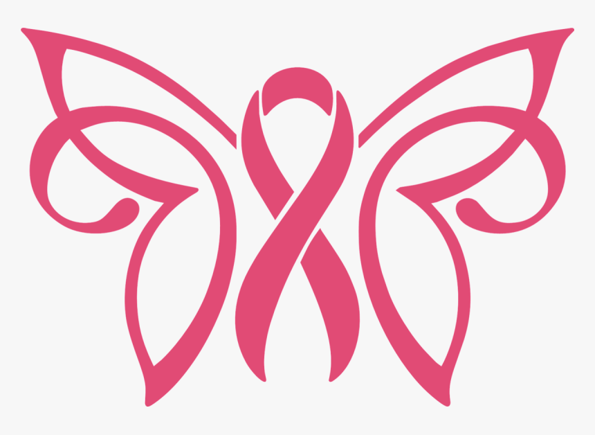 Breast Cancer Butterfly Svg Hd Png Download Kindpng