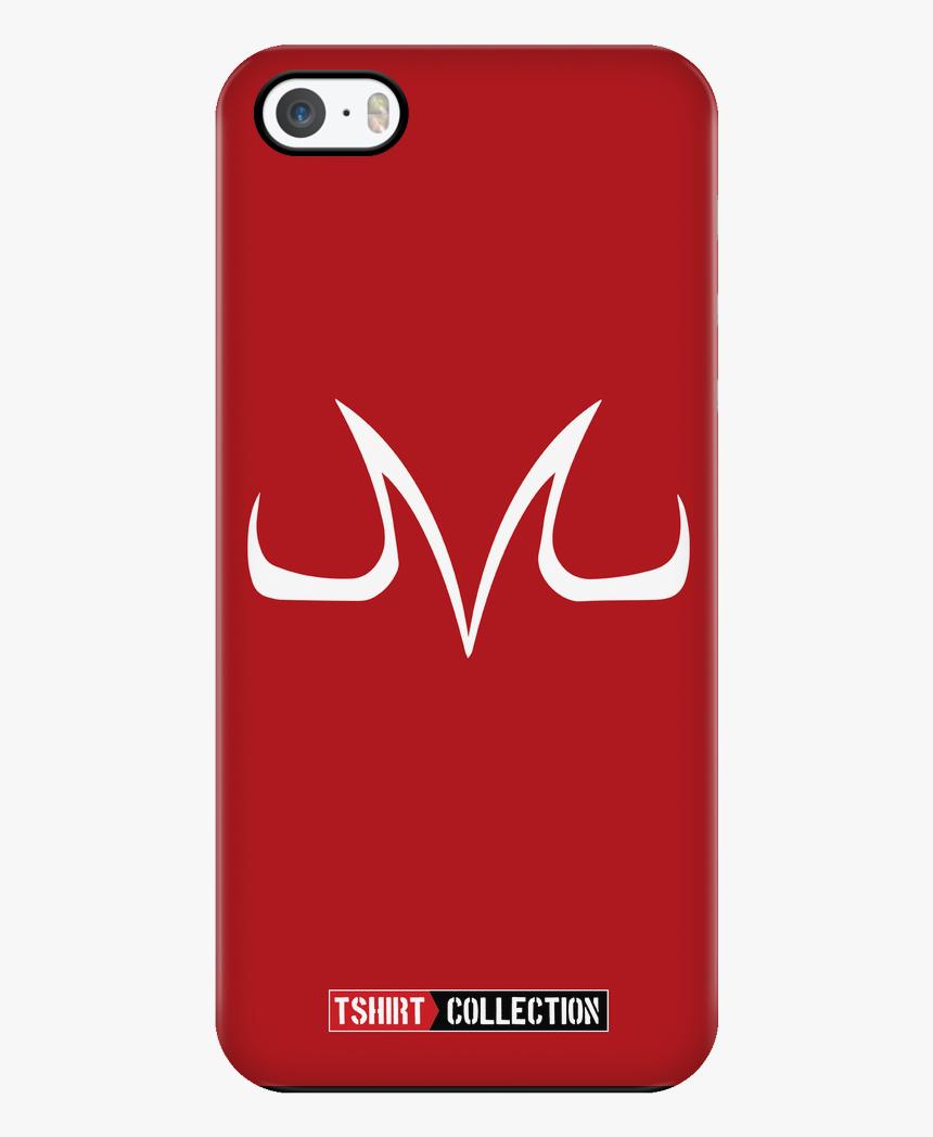 Super Saiyan Majin Symbol Iphone 5, 5s, 6, 6s, 6 Plus, - Mobile Phone Case, HD Png Download, Free Download