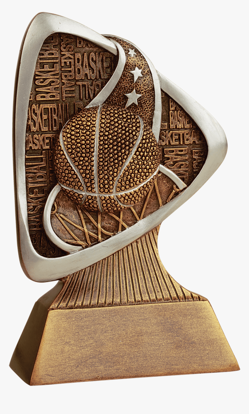 Basketball Triad Resin Trophy - Trophy, HD Png Download, Free Download