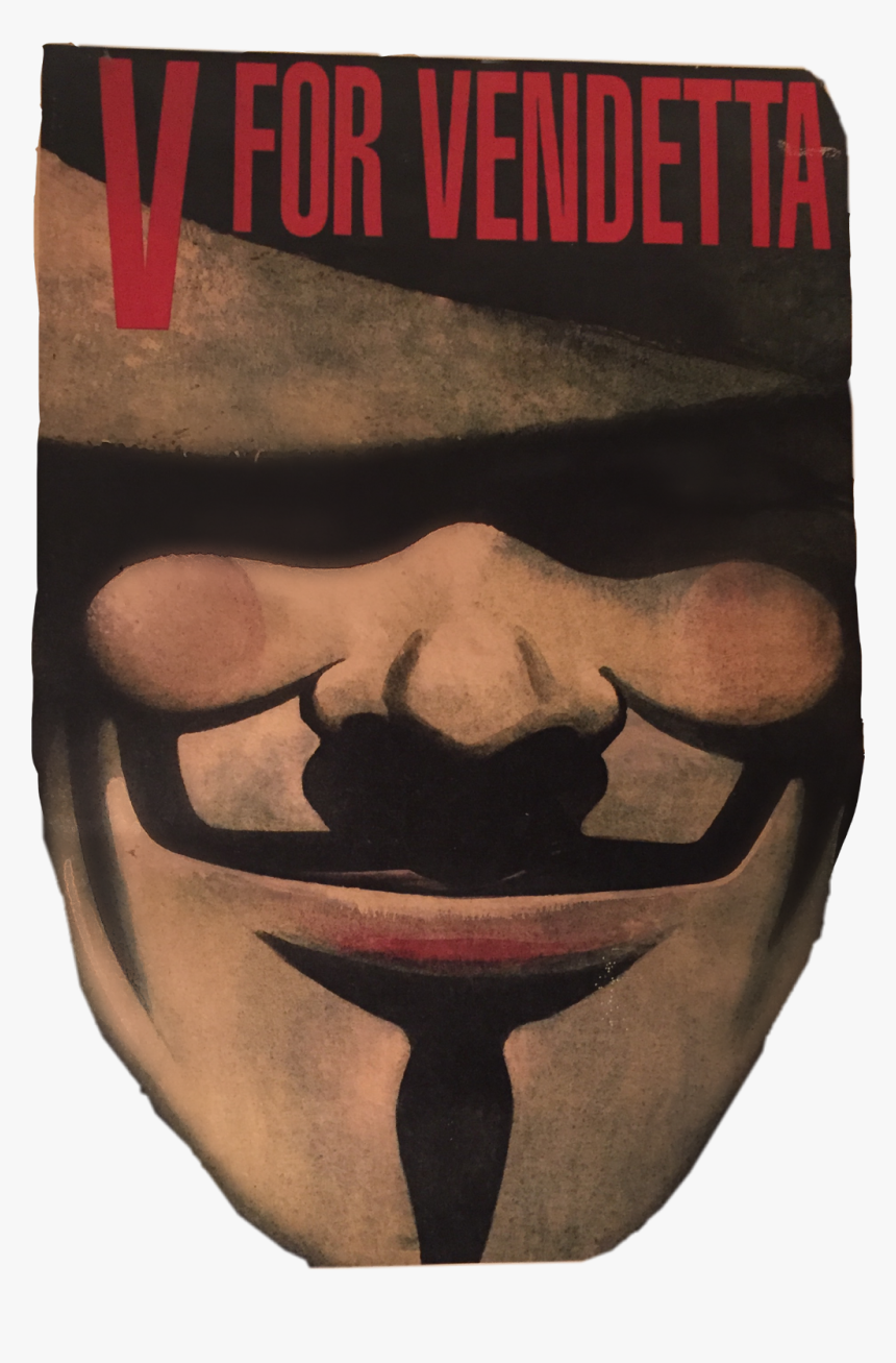 #v For Vendetta #freetoedit - V For Vendetta Comic Cover, HD Png Download, Free Download
