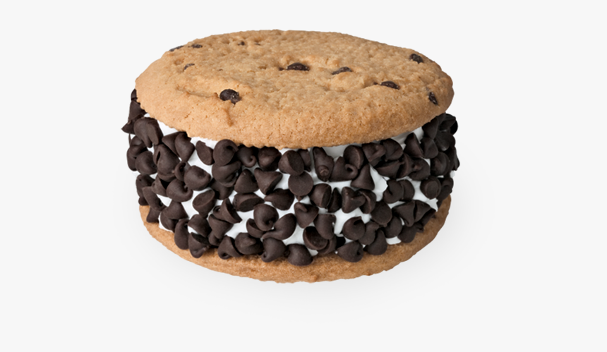 Cookies Ice Cream Sandwich - Flying Saucer Carvel, HD Png Download, Free Download