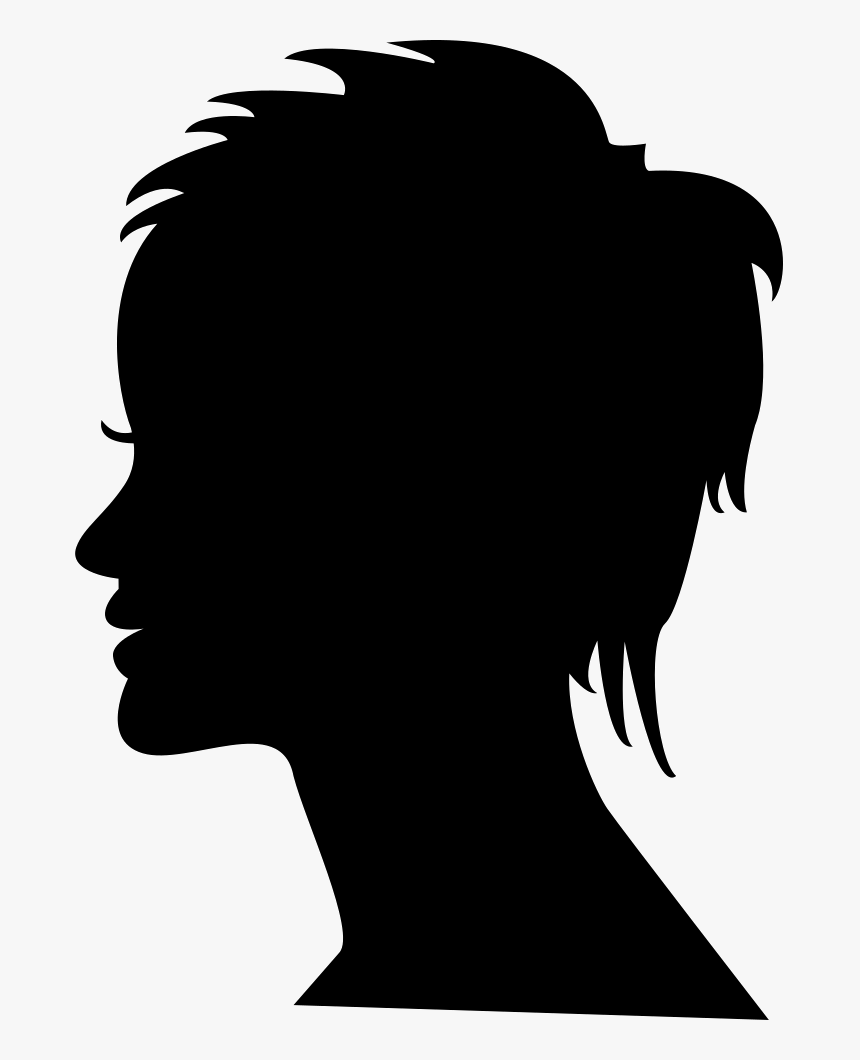 Transparent Woman Head Png - Free Woman Head Silhouette, Png Download, Free Download