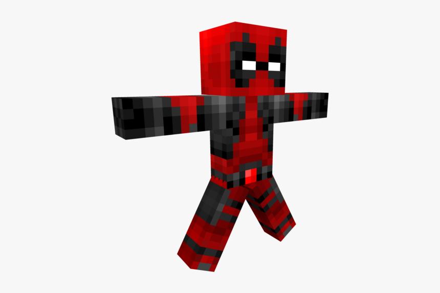 Clip Art Minecraft Deadpool - Deadpool Skin For Pixel Gun 3d, HD Png Download, Free Download