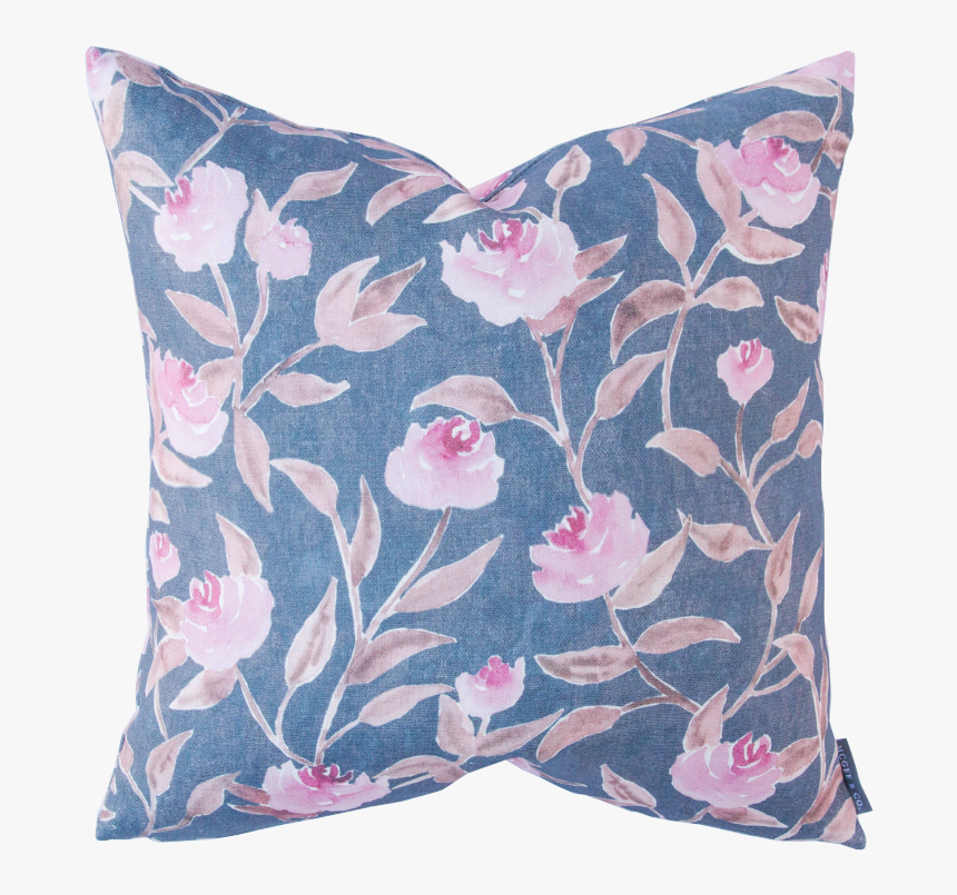 Stafford Floral 4 - Throw Pillow, HD Png Download, Free Download