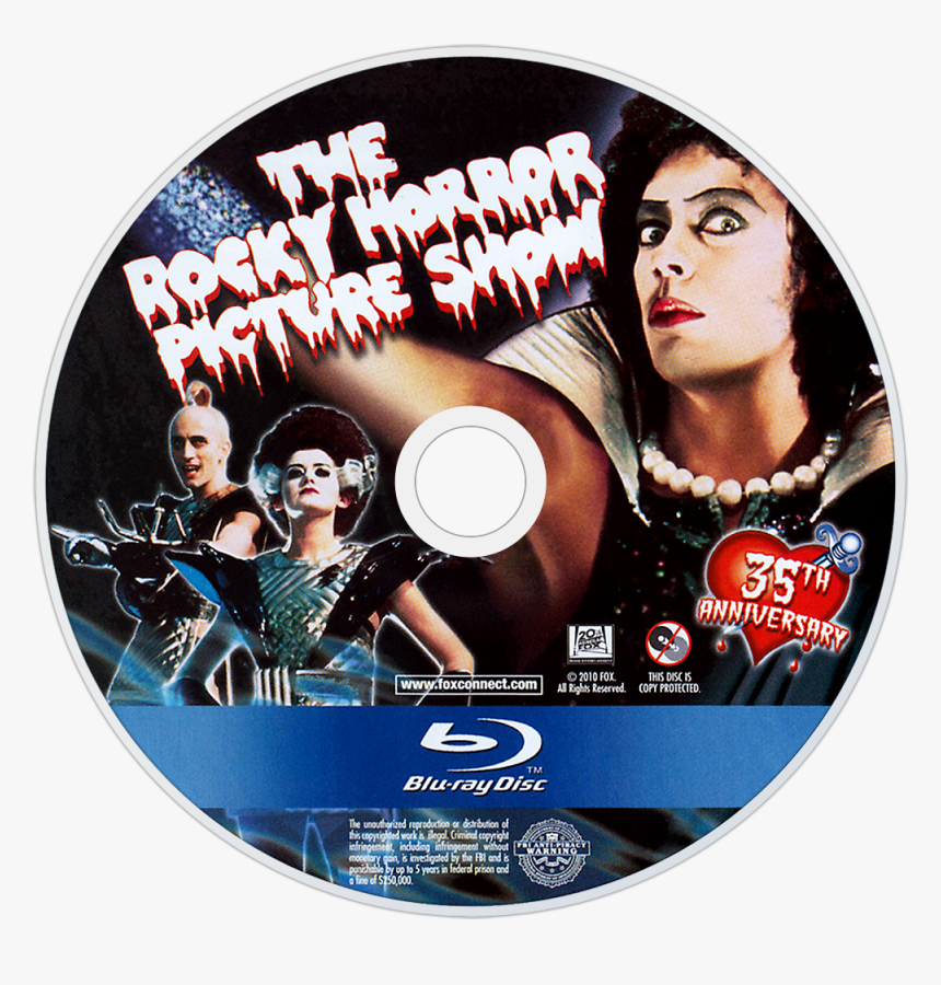 Rocky Horror Picture Show Blu Ray Disc, HD Png Download, Free Download