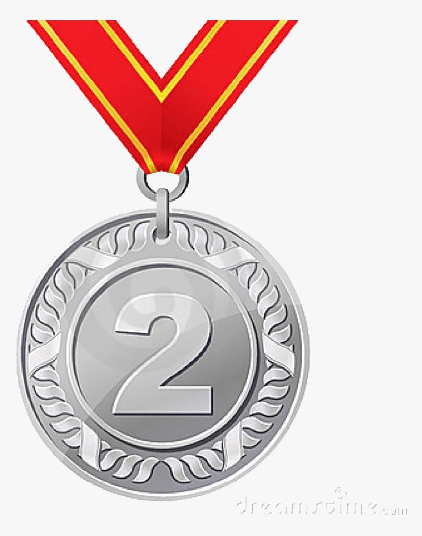 Silver Medal Png - Bronze Medal, Transparent Png, Free Download