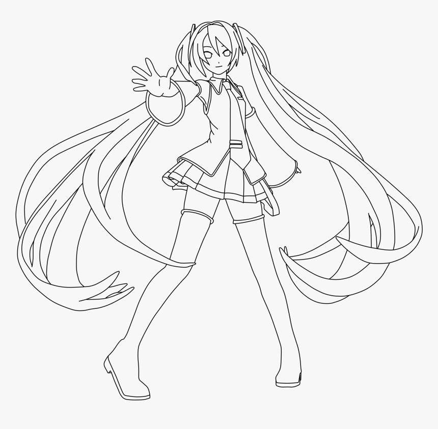Hatsune Miku Chibi Coloring Pages - Anime Coloring Pages Hatsune ...