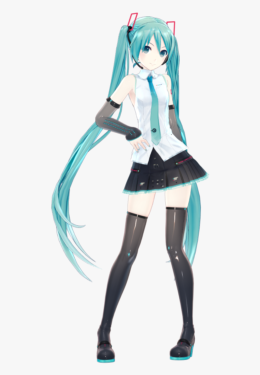 Hatsune Miku V4x Mmd Model, HD Png Download, Free Download