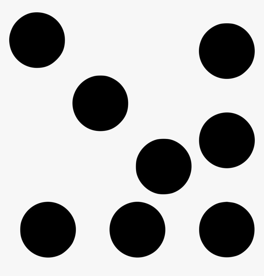Dotted Down Right - Circle, HD Png Download, Free Download