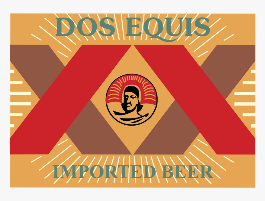 Svg Dos Equis Logo Vector, HD Png Download, Free Download