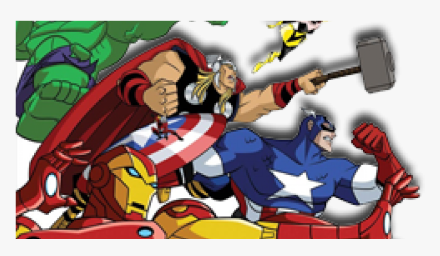 Transparent Os Vingadores Png - Avengers Earth's Mightiest Heroes, Png Download, Free Download