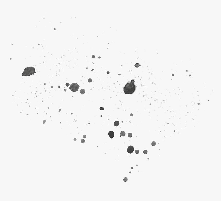 Black Irregular Wave Cartoon Transparent - Monochrome, HD Png Download, Free Download