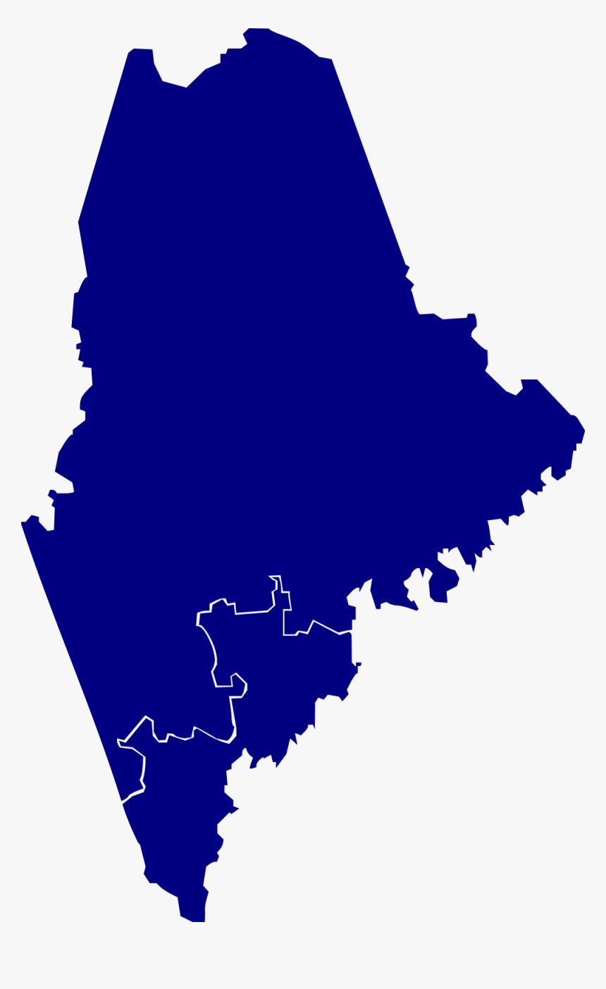 2010 House Elections Maine - Maine Clipart Transparent, HD Png Download, Free Download
