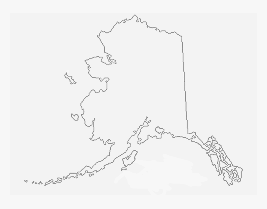 Alaska State Outline Png, Transparent Png - Alaska State Outline Png, Png Download, Free Download