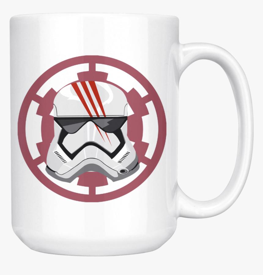 Star Wars Storm Trooper 3d Unique Mug Ceramic Coffee - Star Wars Empire Sticker, HD Png Download, Free Download