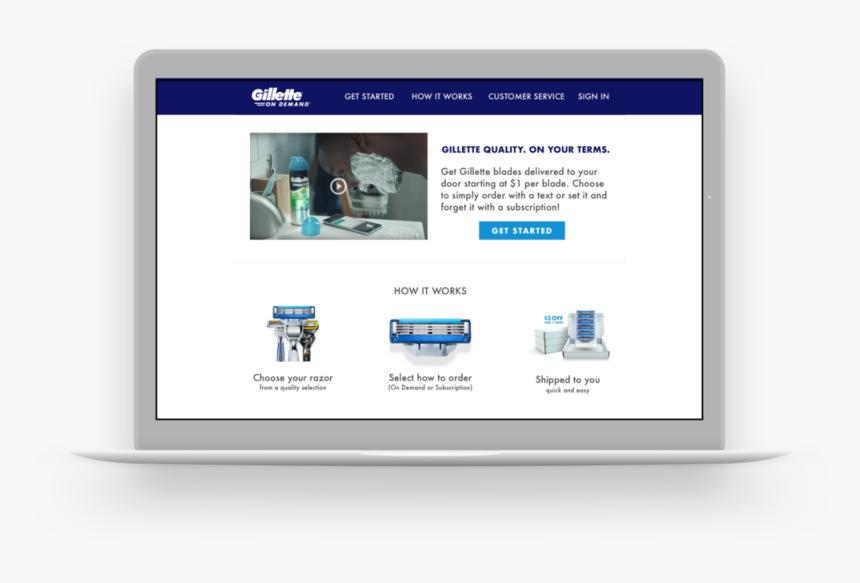 Transparent Gillette Logo Png - Online Advertising, Png Download, Free Download