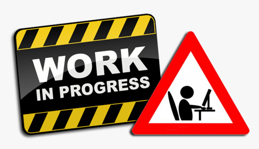 Work In Progress Clipart, HD Png Download, Free Download