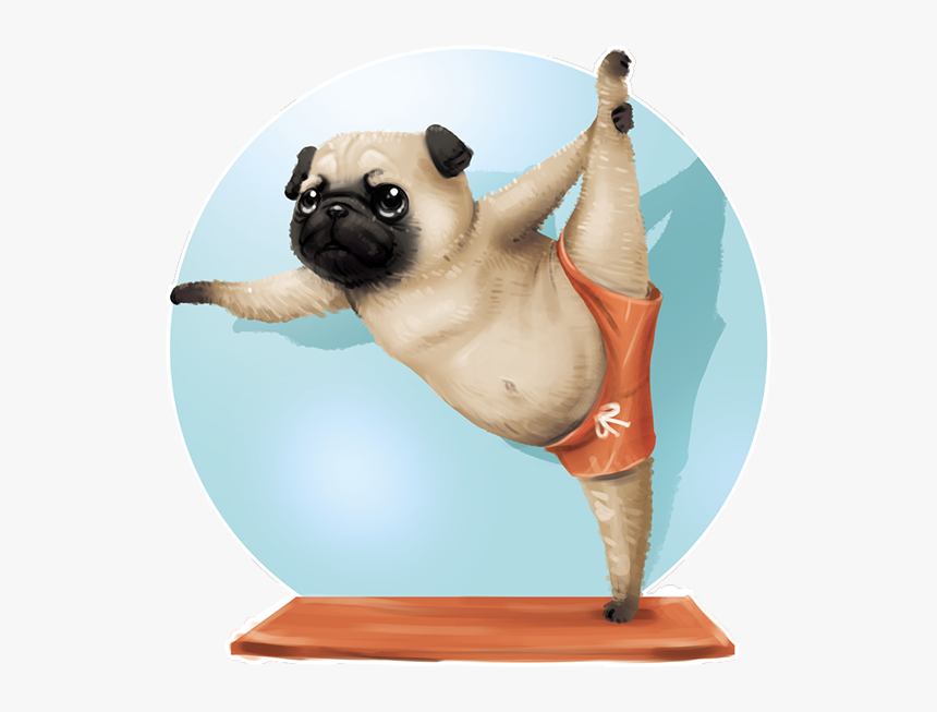 Cute Dogs Pugs, HD Png Download, Free Download
