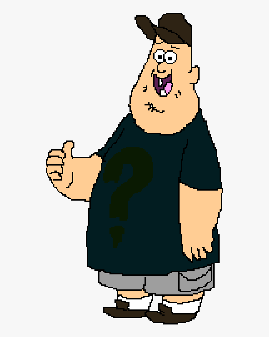 Draw Soos From Gravity Falls Clipart , Png Download - Soos From Gravity Falls, Transparent Png, Free Download