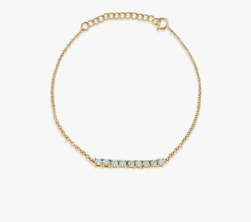 Mini Aquamarine Tennis Bracelet, HD Png Download, Free Download