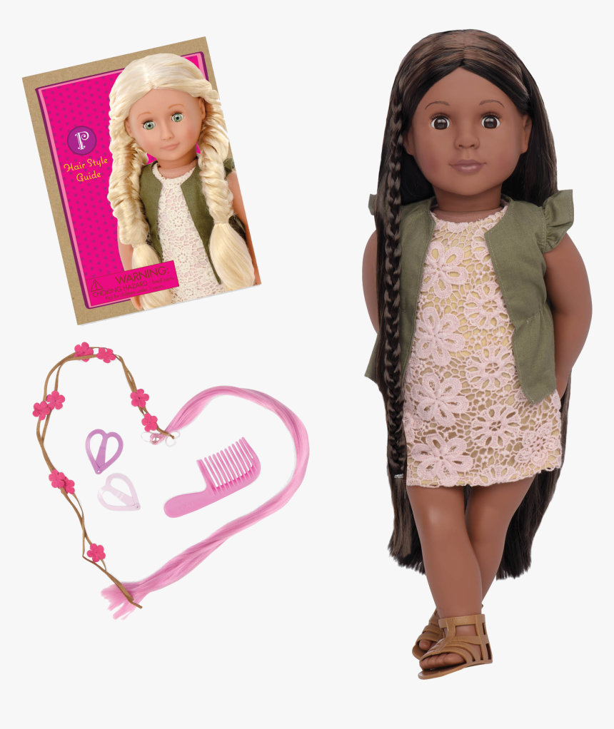 Neveah 18-inch Hairplay Doll With Braids - Flora Our Generation Doll, HD Png Download, Free Download