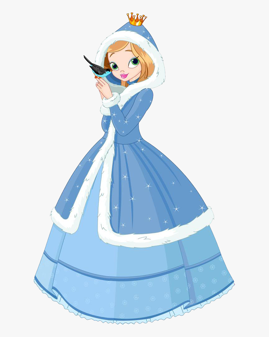 Transparent Princess Dress Png , Beautiful Cartoon Princess