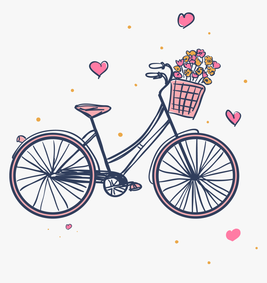Border template with four kids riding bike - Download Free Vectors, Clipart  Graphics & Vector Art