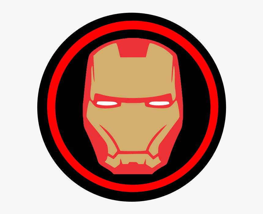 Homem De Ferro - Simple Iron Man Drwaing, HD Png Download, Free Download