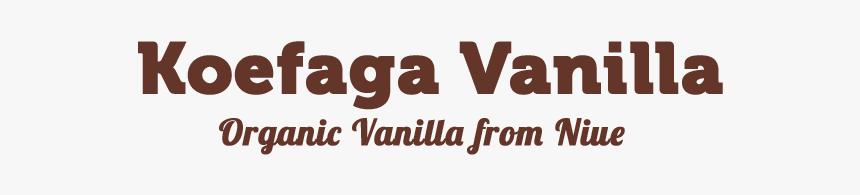 Koefaga Vanilla For Cooking - Tan, HD Png Download, Free Download