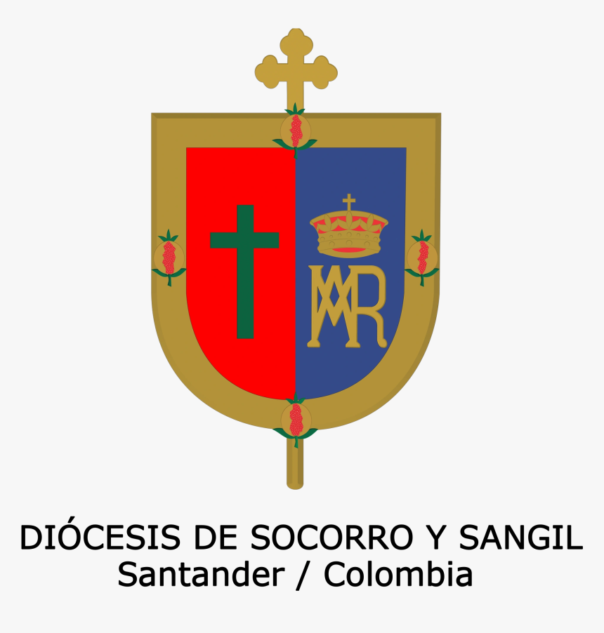 Diócesis De Socorro Y San Gil - Crest, HD Png Download, Free Download