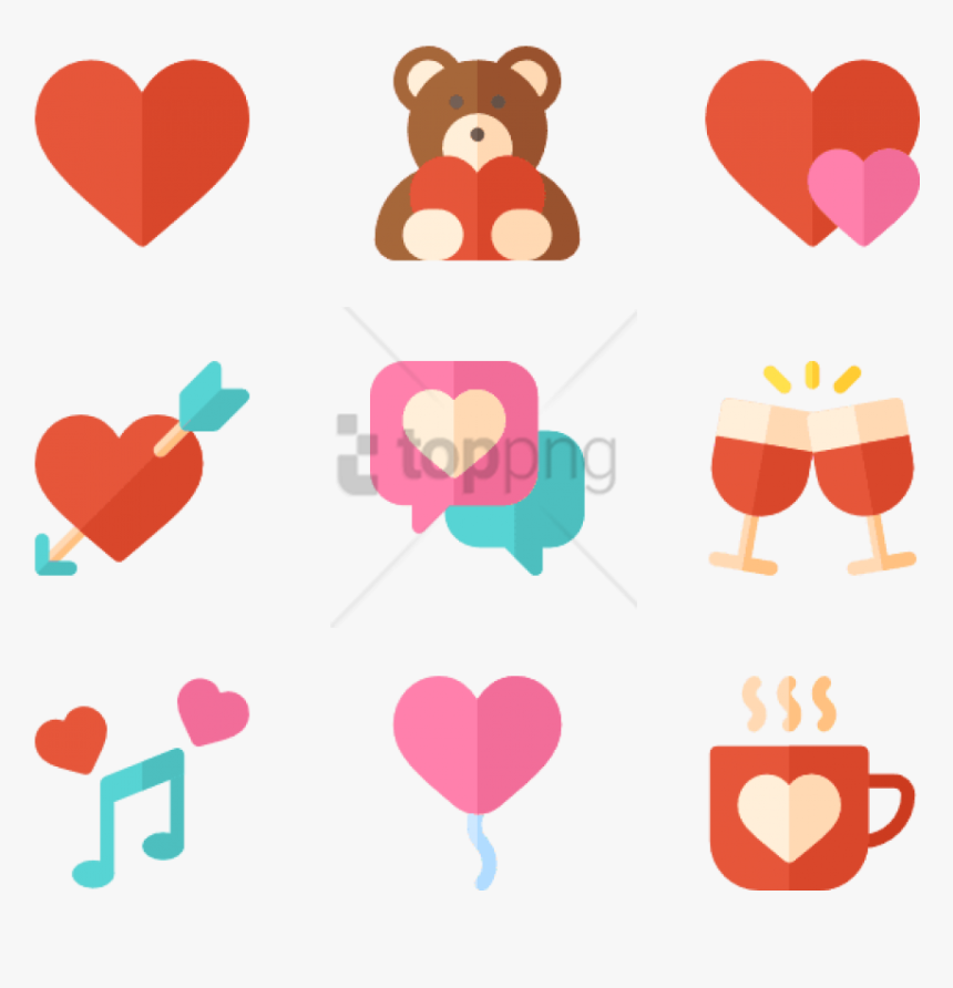 "Free Png Valentine""s Day Icon Png Image With Transparent - Valentine's Day Icon Png, Png Download, Free Download"
