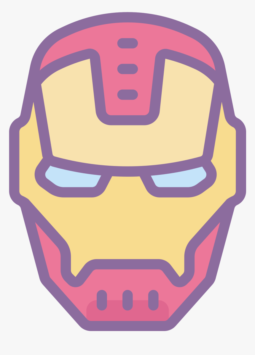 Iron Man Mask Png -iron Man Icon Free - Portable Network Graphics, Transparent Png, Free Download