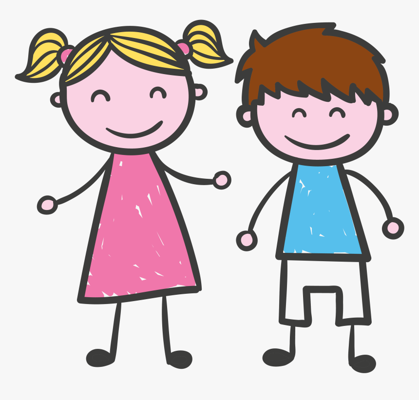 National Girl Child Day Cartoon, HD Png Download, Free Download