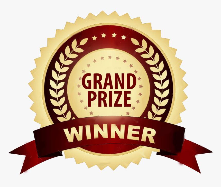 Grand Prize Png Transparent Background - 1st Prize Winner Logo, Png  Download - kindpng