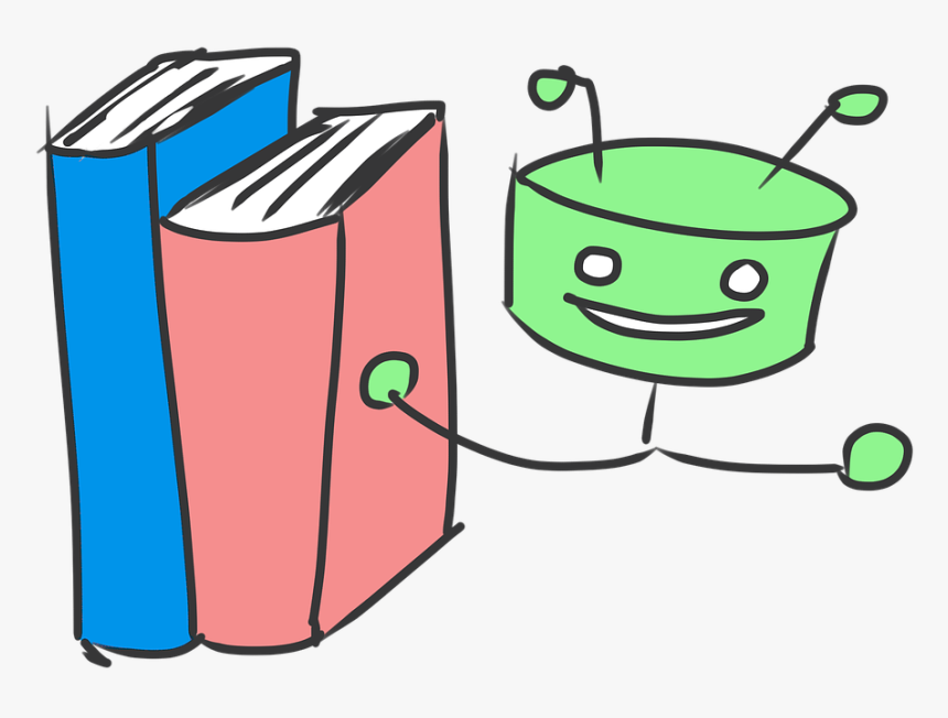 Books, Read, Robot, Literature, Recommendation - B Pharmacy First Year Books, HD Png Download, Free Download