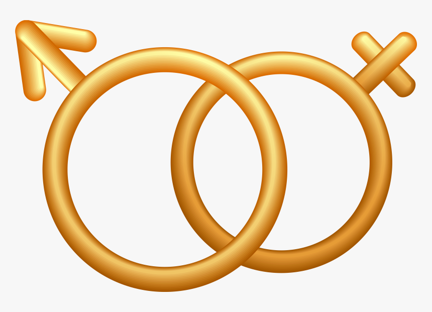 Male Female Symbol Png - Male And Female Symbols Png, Transparent Png, Free Download