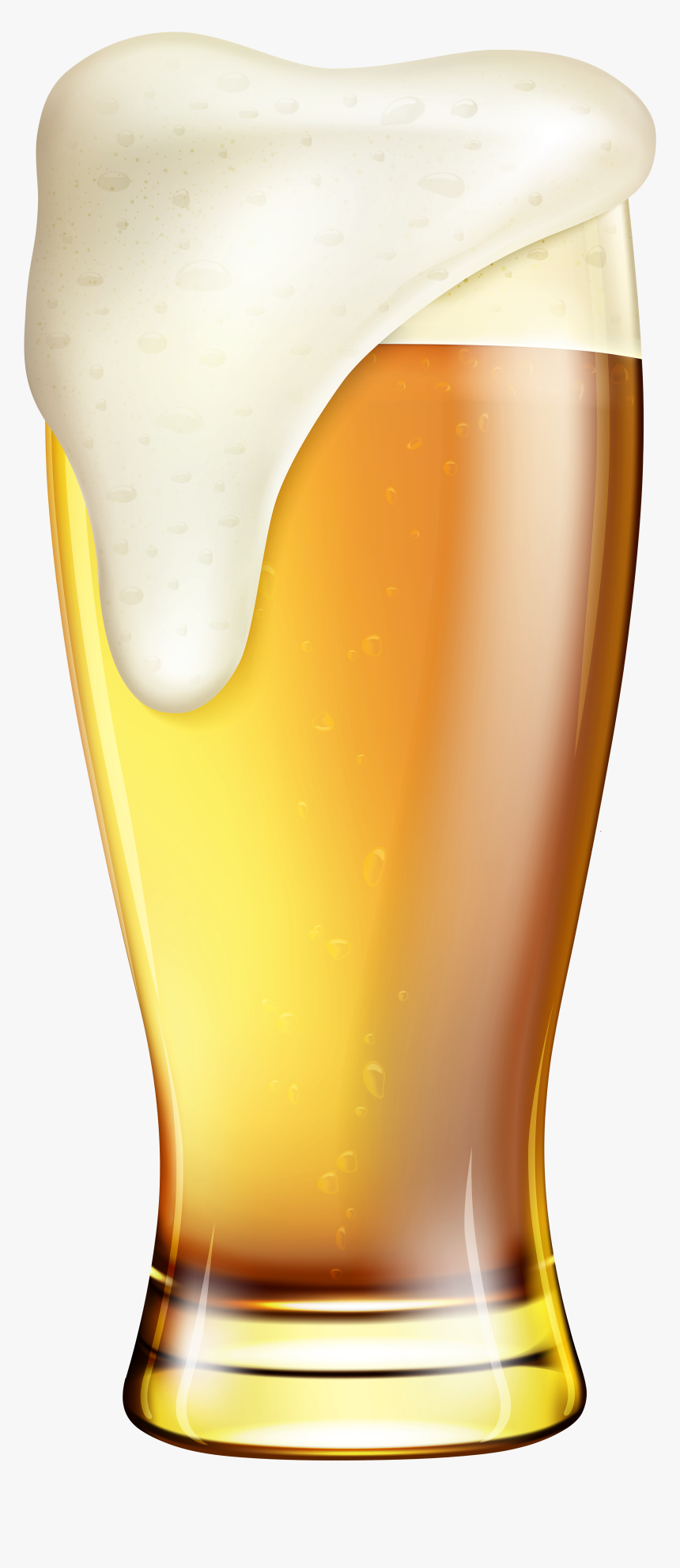 Beer Clipart High Resolution - Glass Of Beer Clipart, HD Png Download, Free Download