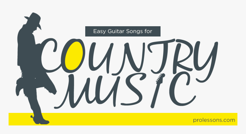 Easy Guitar Songs For Country Music - Calligraphy, HD Png Download, Free Download