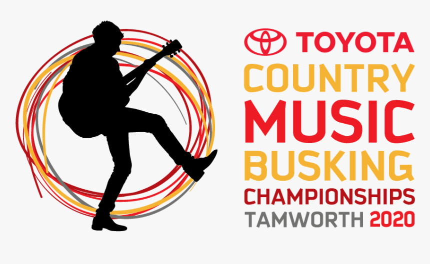 Busking 2020 Logo Semi Stacked Positive-01 - Tamworth Country Music Festival, HD Png Download, Free Download