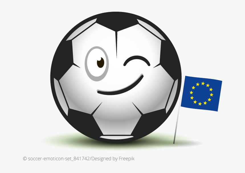 Euro - Clip Art Vector Soccer Ball, HD Png Download, Free Download