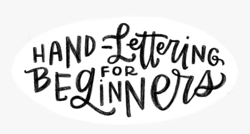 Transparent Hand Drawn Banner Png - Handlettering Beginner, Png Download, Free Download