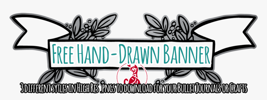 Printable Bullet Journal Banners, HD Png Download, Free Download