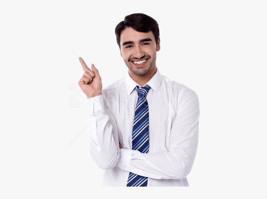 Person Pointing Png - Man Stock Photo Png, Transparent Png, Free Download